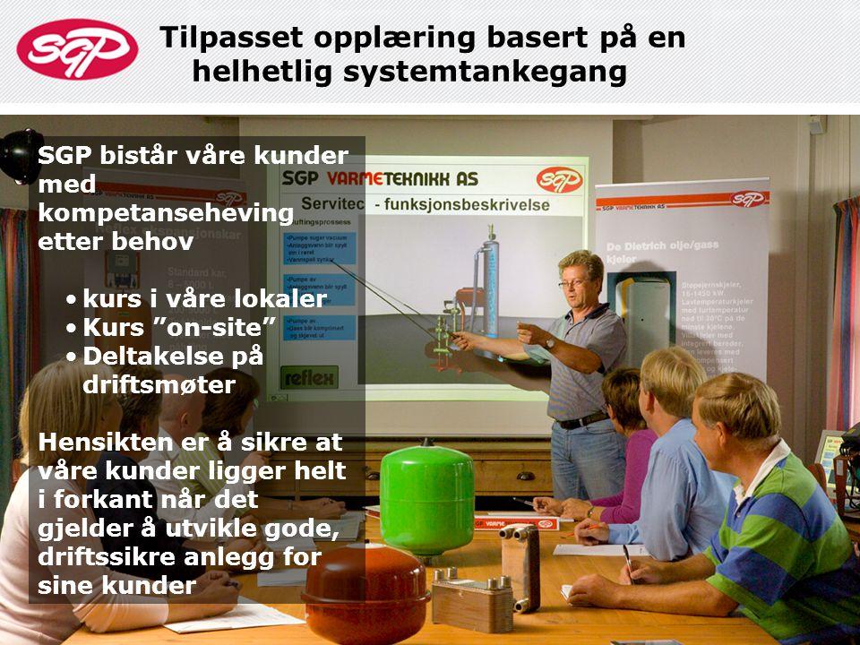Tilpasset opplæring basert på en helhetlig systemtankegang
