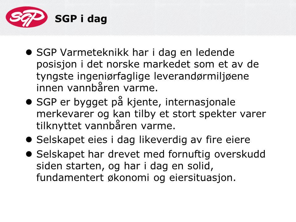SGP i dag