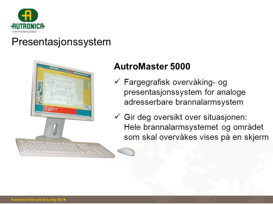 Presentasjonssystem AutroMaster 5000