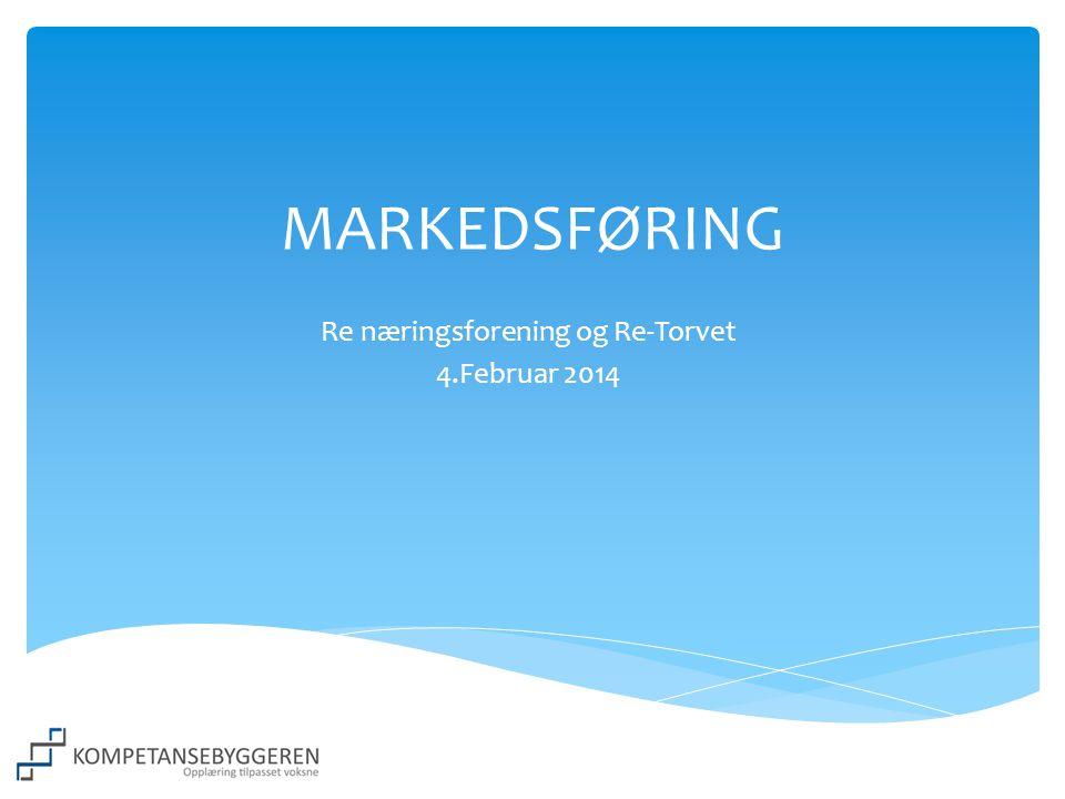 Re næringsforening og Re-Torvet 4.Februar 2014