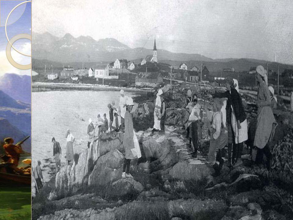 Flytting Flest mennesker dro fra bygdene til byene og tettstedene langs kysten. I 1801 bodde kun 10% i byene.