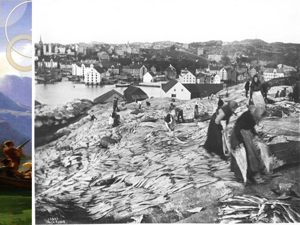 Fiske Etter landbruket var fisket den viktigste næringen