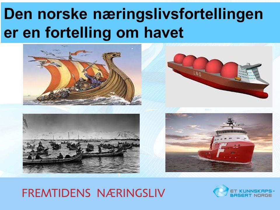 Den norske næringslivsfortellingen er en fortelling om havet