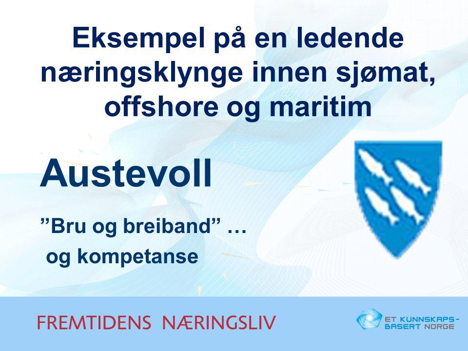Eksempel på en ledende næringsklynge innen sjømat, offshore og maritim
