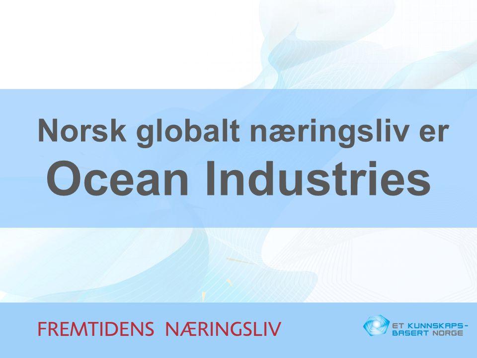 Norsk globalt næringsliv er Ocean Industries