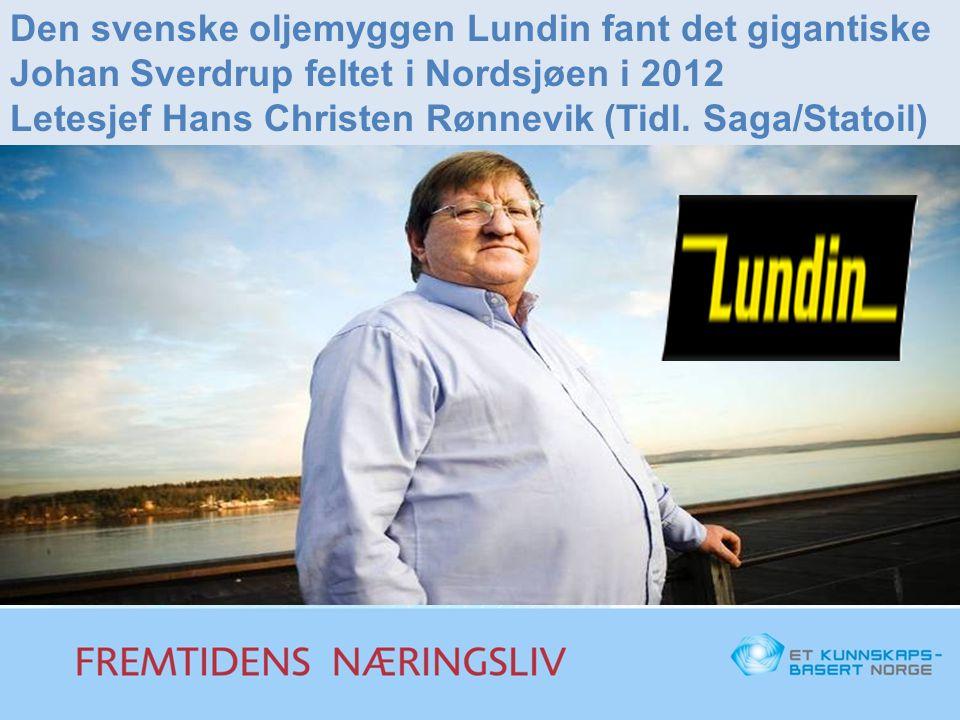 Den svenske oljemyggen Lundin fant det gigantiske