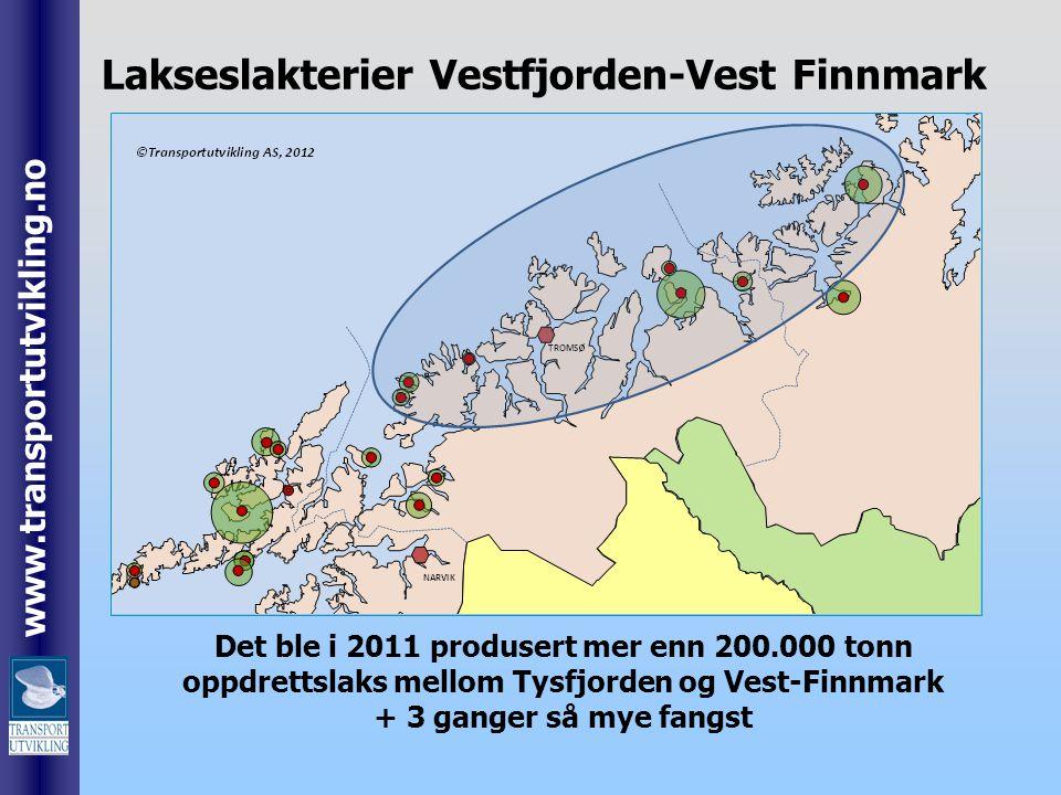 Lakseslakterier Vestfjorden-Vest Finnmark