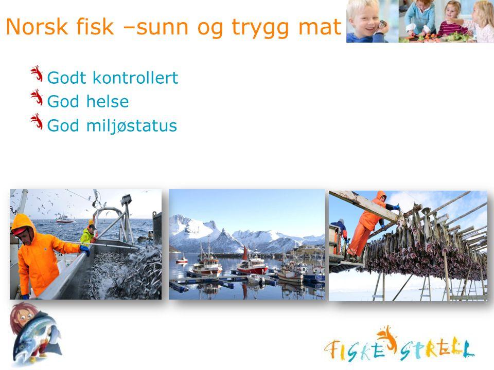 Norsk fisk –sunn og trygg mat