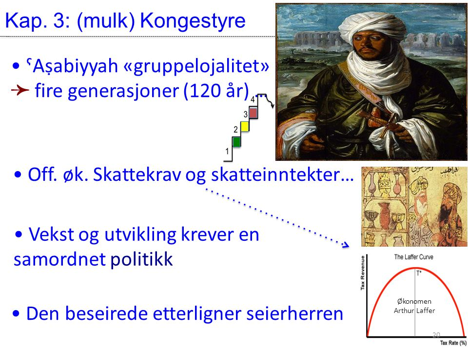 Kap. 3: (mulk) Kongestyre