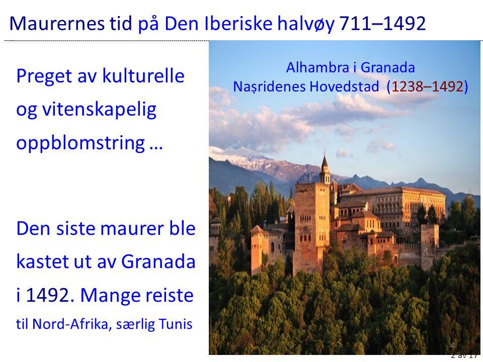 Maurernes tid på Den Iberiske halvøy 711–1492