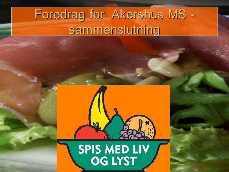 Foredrag for Akershus MS - sammenslutning