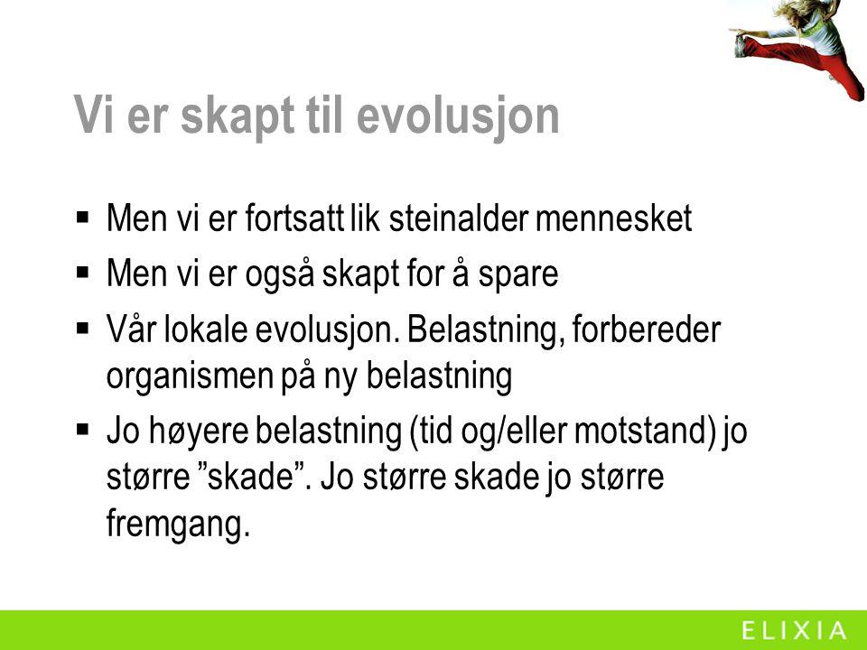 Vi er skapt til evolusjon