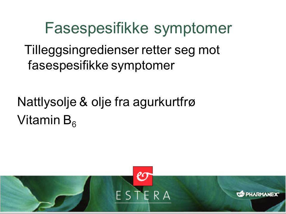 Fasespesifikke symptomer