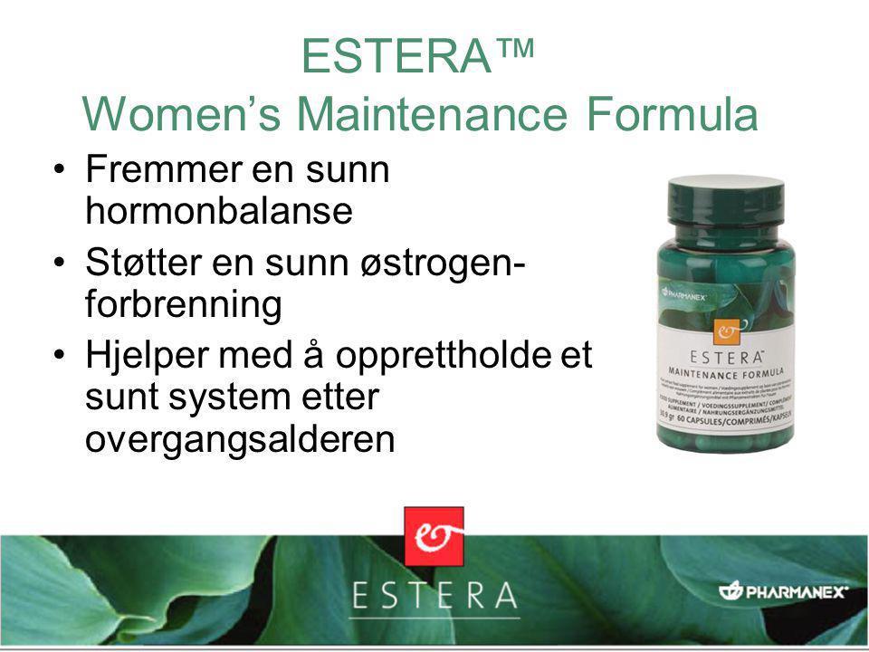 ESTERA™ Women's Maintenance Formula