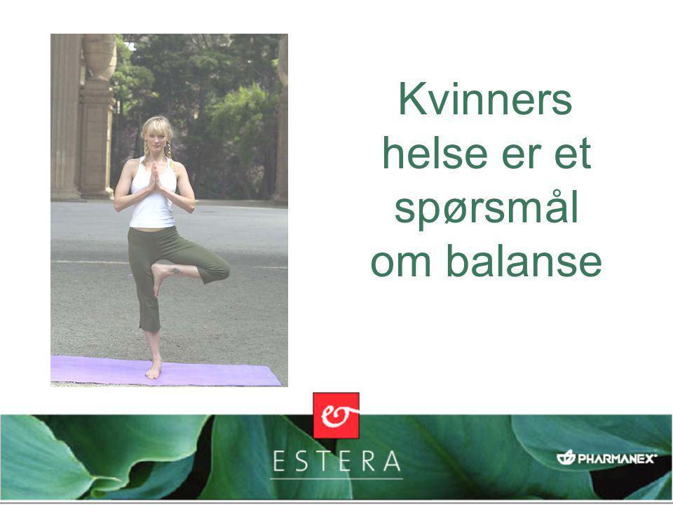 Kvinners helse er et spørsmål om balanse