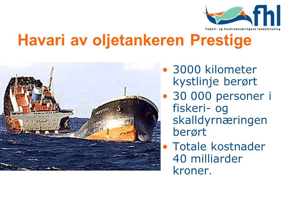 Havari av oljetankeren Prestige