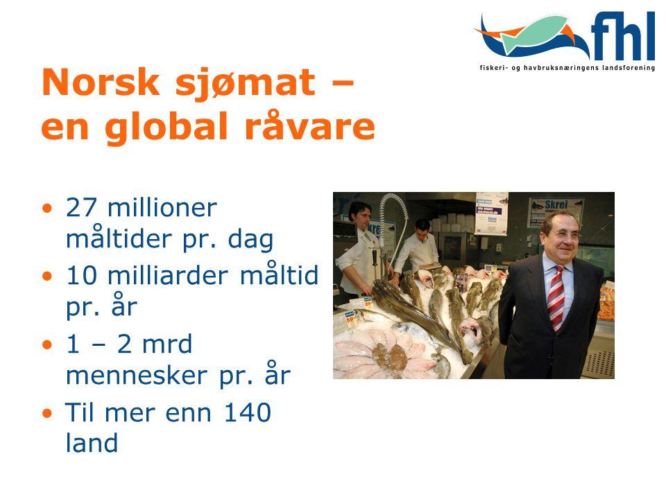 Norsk sjømat – en global råvare