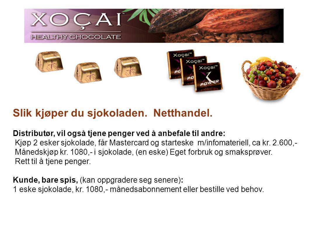 Slik kjøper du sjokoladen. Netthandel.