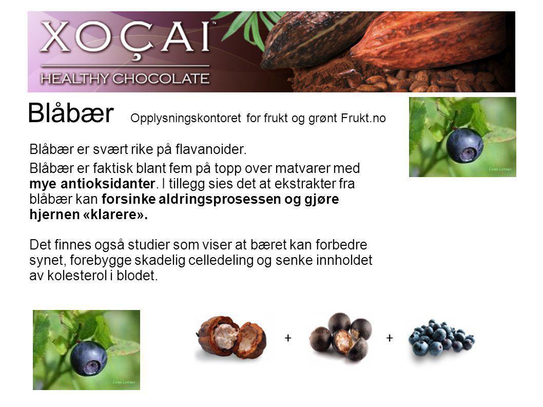 Blåbær Opplysningskontoret for frukt og grønt Frukt.no