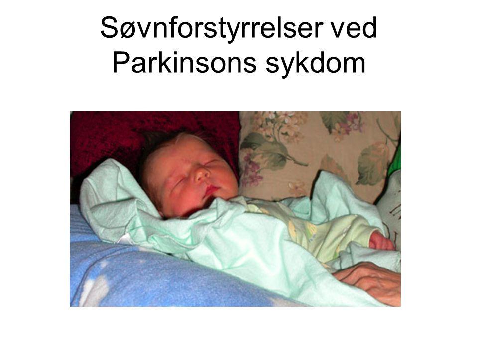 Søvnforstyrrelser ved Parkinsons sykdom