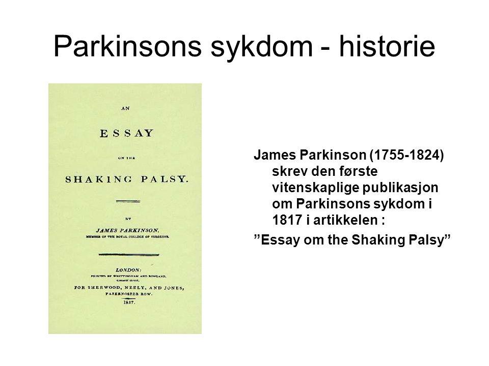 Parkinsons sykdom - historie