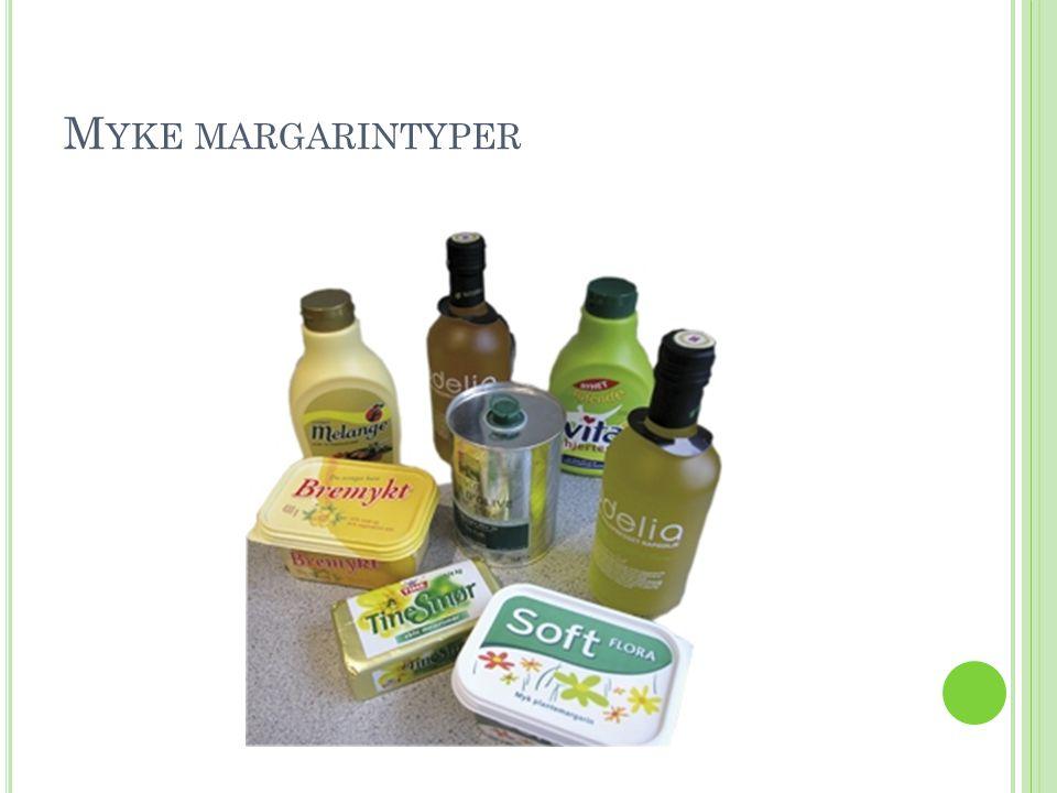 Myke margarintyper