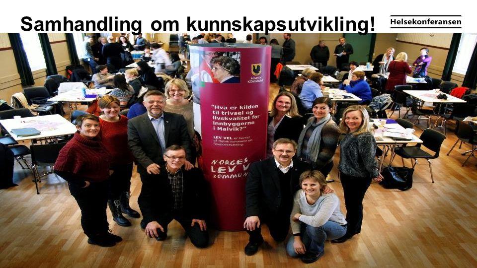 Samhandling om kunnskapsutvikling!