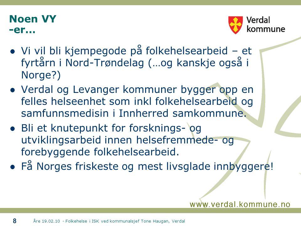 Få Norges friskeste og mest livsglade innbyggere!