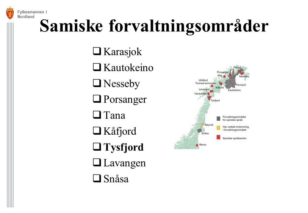 Samiske forvaltningsområder