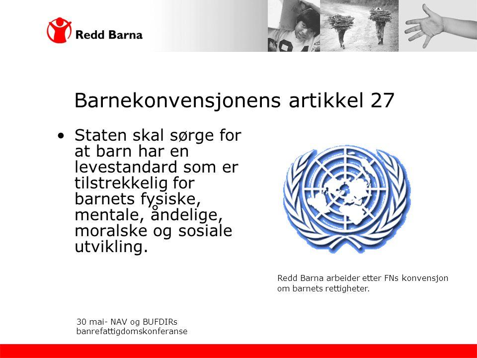 Barnekonvensjonens artikkel 27