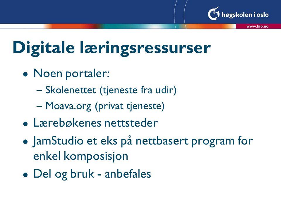 Digitale læringsressurser