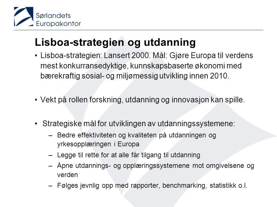 Lisboa-strategien og utdanning