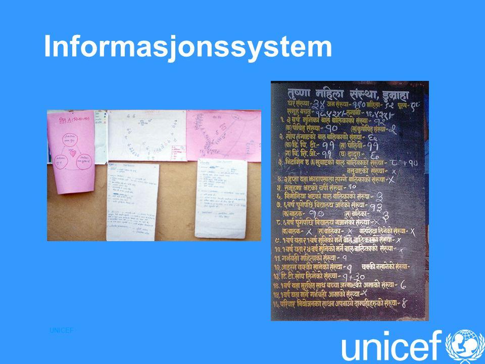 Informasjonssystem UNICEF