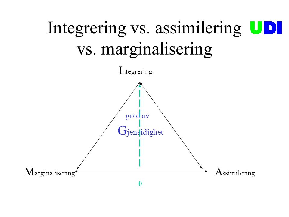 Integrering vs. assimilering vs. marginalisering