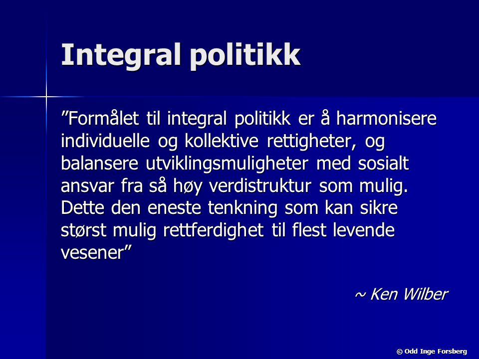 Integral politikk