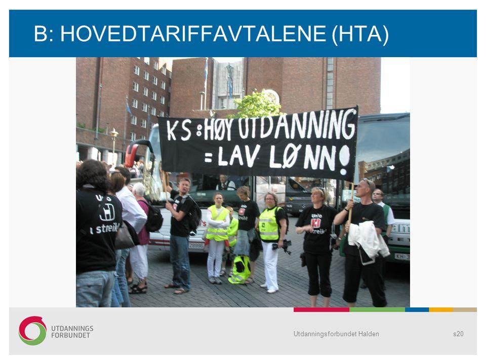 B: HOVEDTARIFFAVTALENE (HTA)