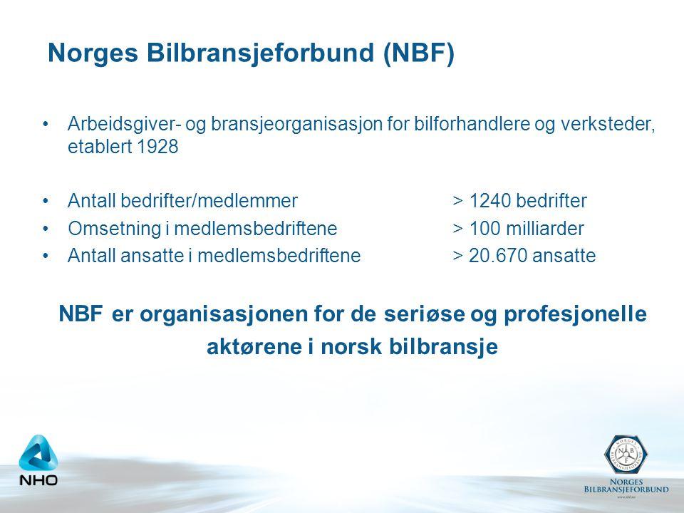 Norges Bilbransjeforbund (NBF)