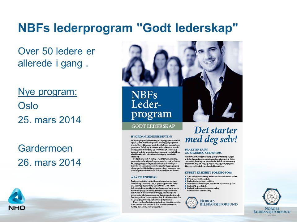 NBFs lederprogram Godt lederskap