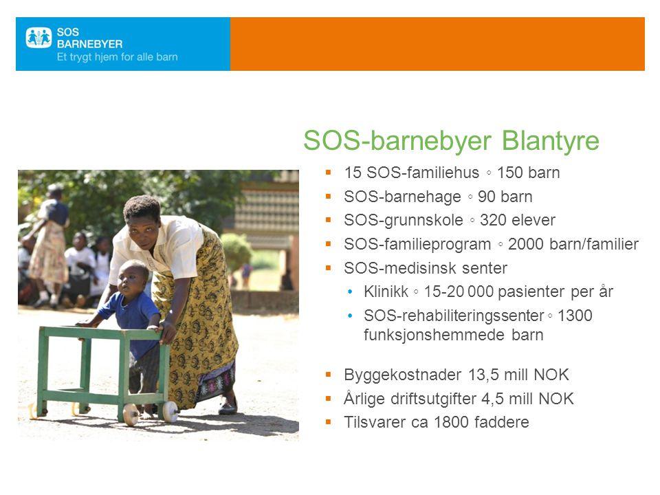 SOS-barnebyer Blantyre