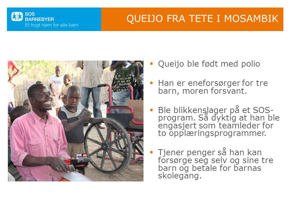 Queijo fra Tete i Mosambik