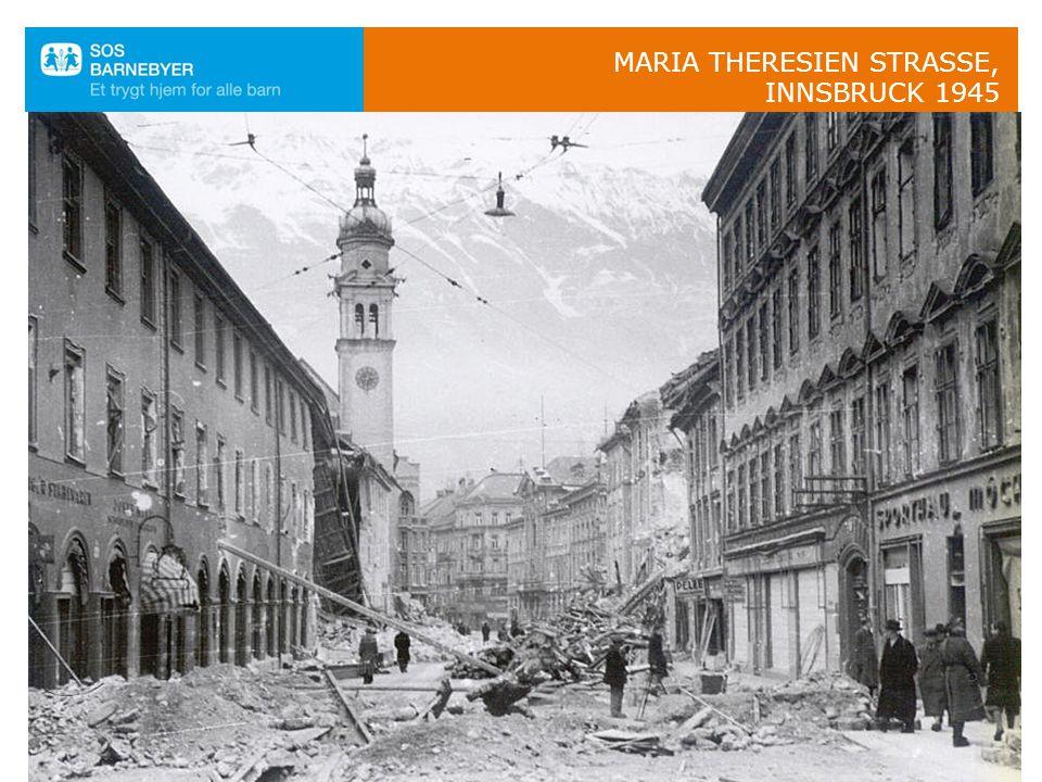 Maria Theresien Strasse, Innsbruck 1945