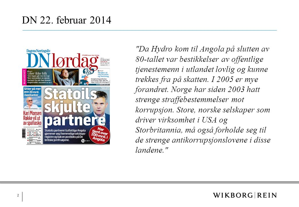 DN 22. februar 2014