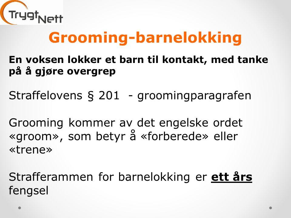 Grooming-barnelokking