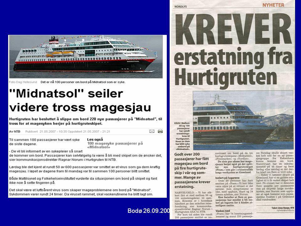 Bodø 26.09.2007