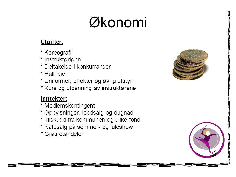 Økonomi Utgifter: