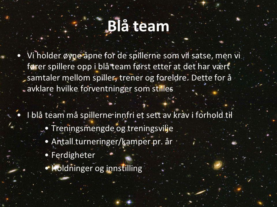Blå team