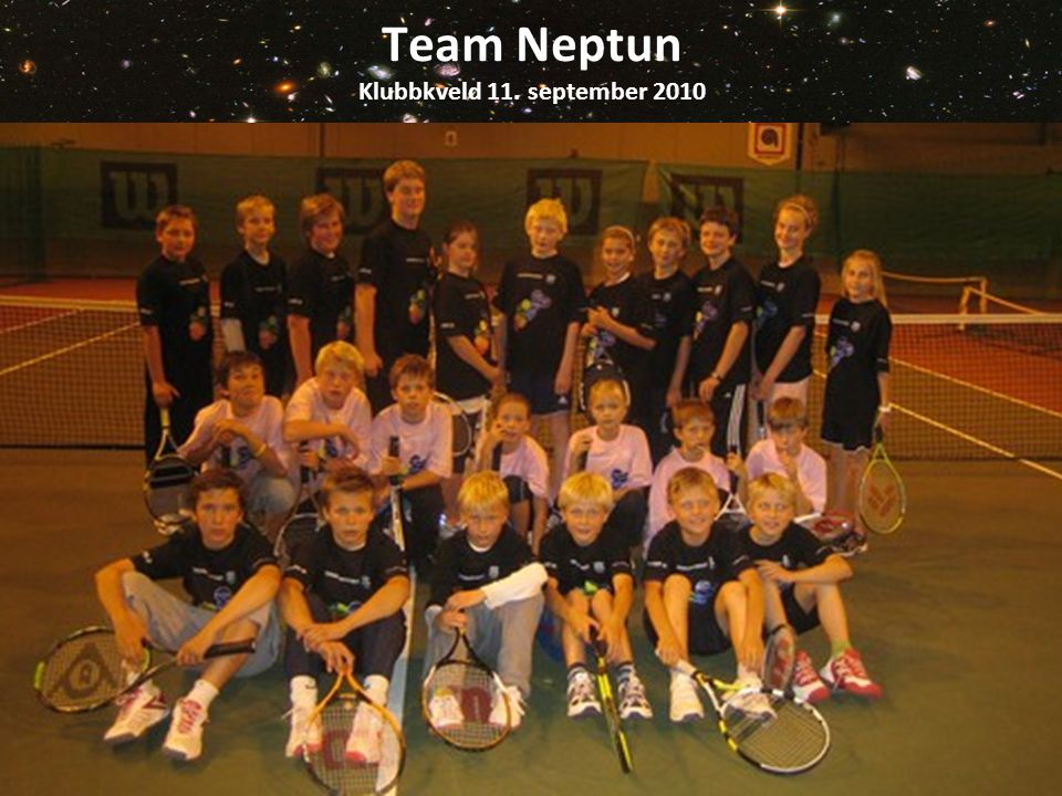 Team Neptun Klubbkveld 11. september 2010
