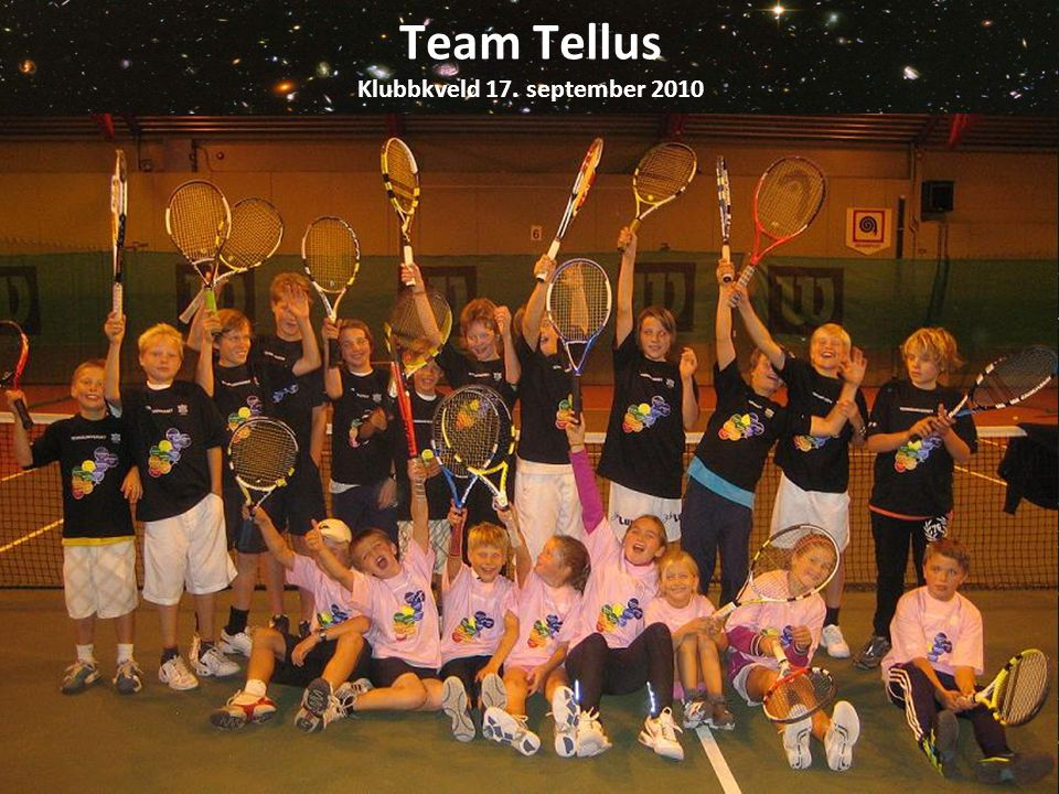 Team Tellus Klubbkveld 17. september 2010