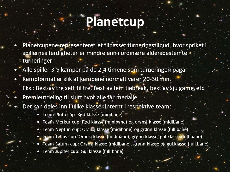 Planetcup