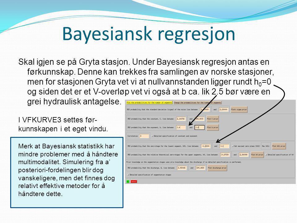 Bayesiansk regresjon